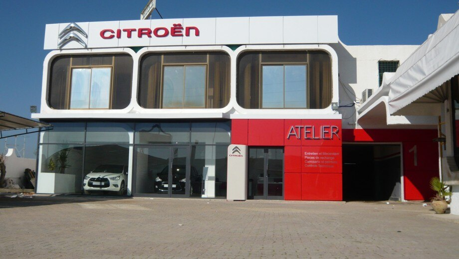 Citro n ezzahra le garage for Garage citroen firminy