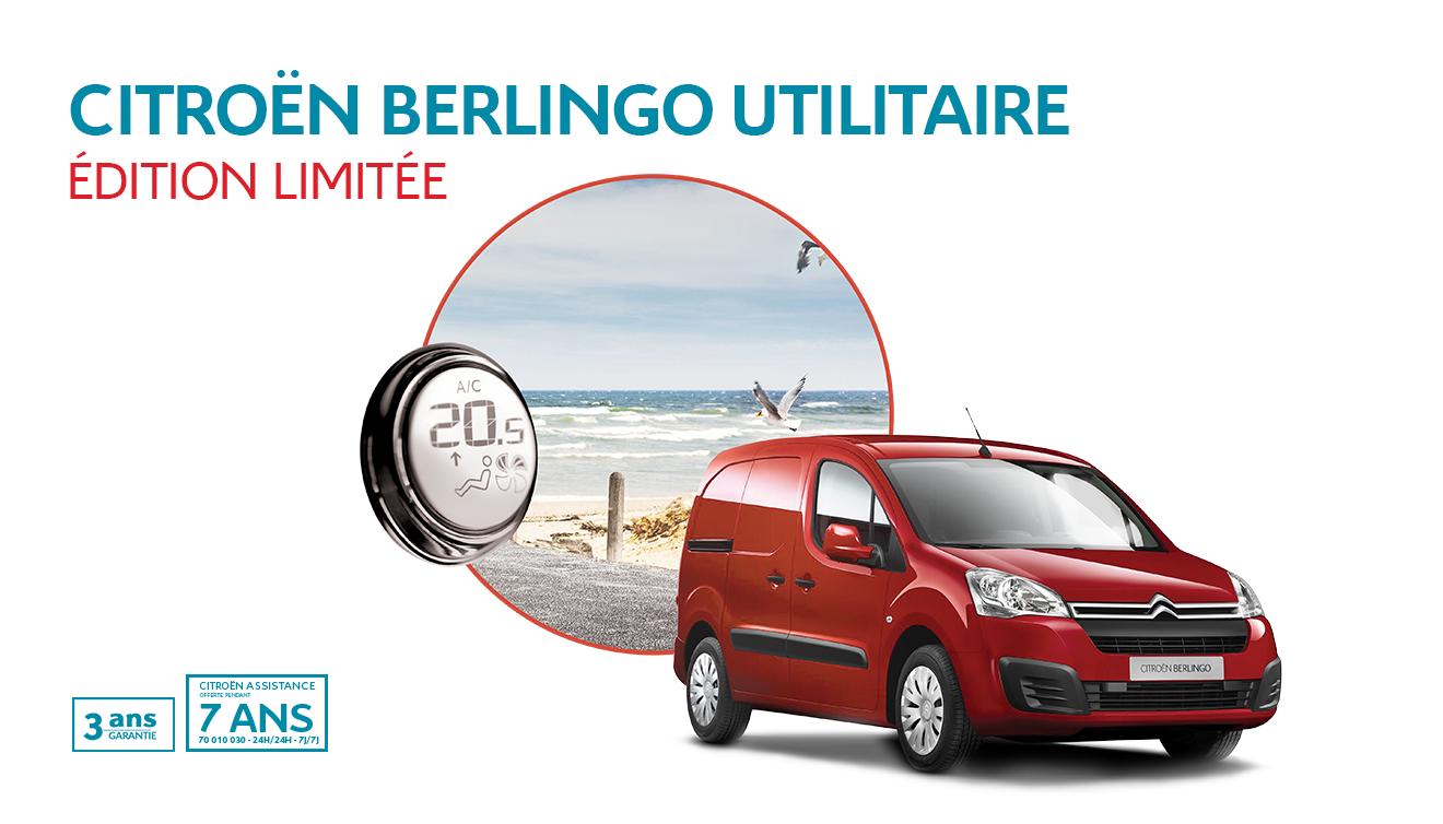 Citroën Berlingo Édition Limitée