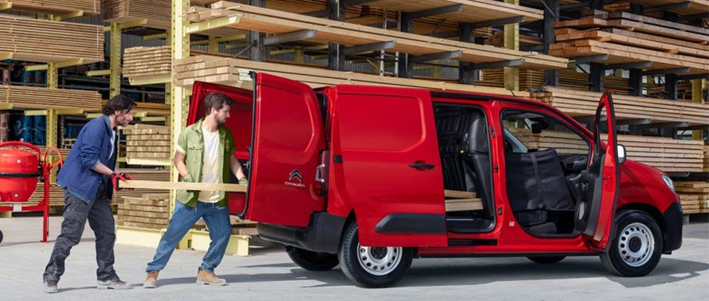 Nouveau Berlingo Van Worker est le partenaire idéal à tous les PRO