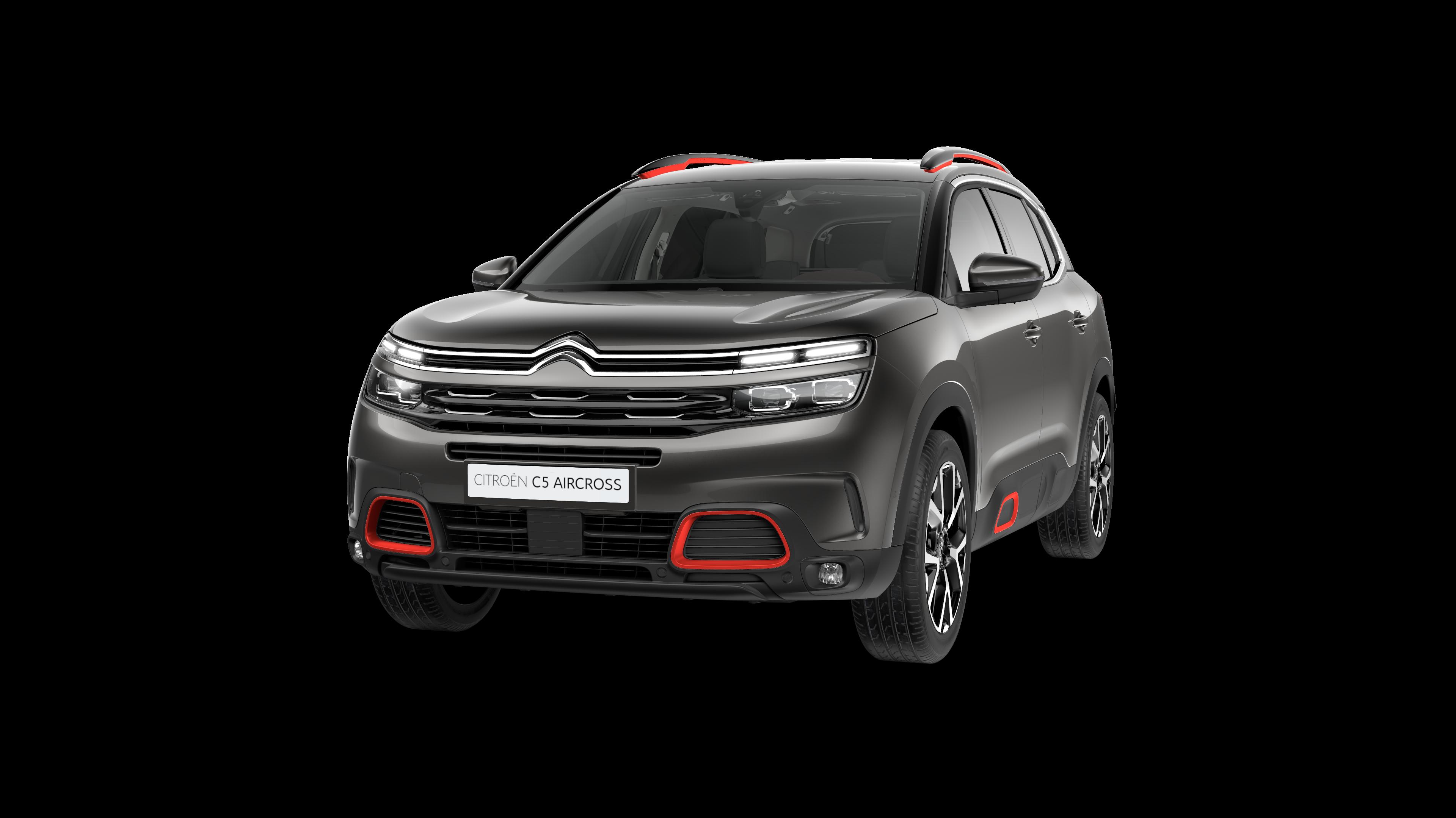 Citroën SUV C5 Aircross en gris platinium