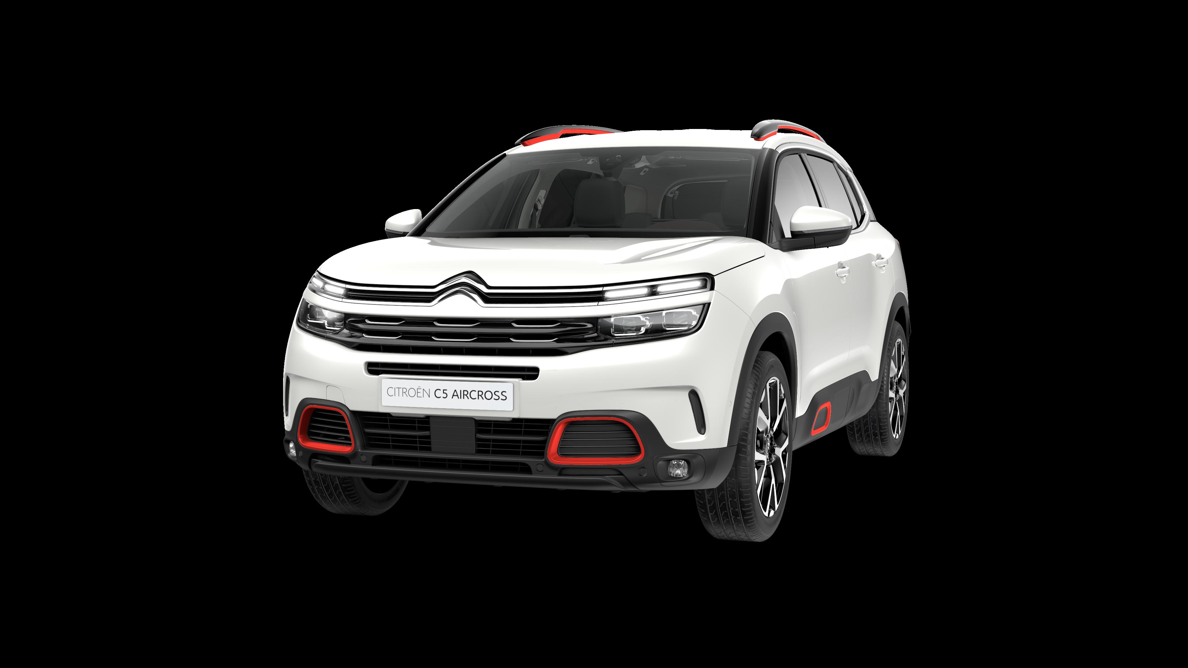 Citroën SUV C5 Aircross en blanc nacré