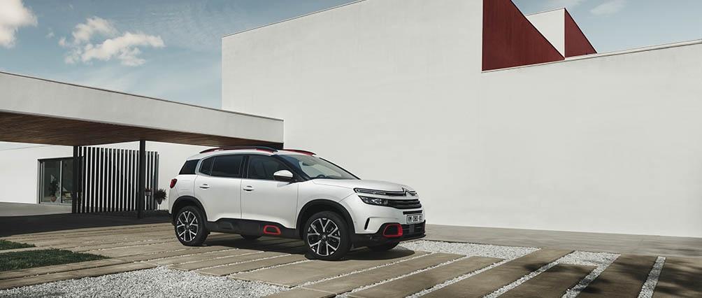 Un excellent design pour le nouveau Citroën SUV C5 Aircross