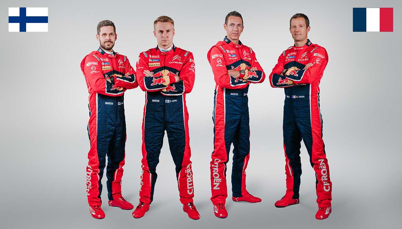 EQUIPAGES EN WRC