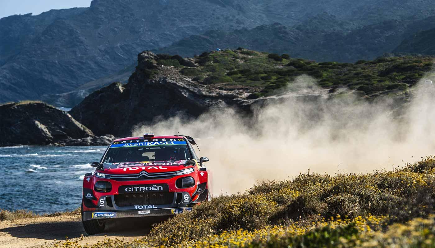 ralley d'Italie : C3 WRC Sardinia